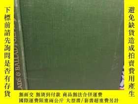 二手書博民逛書店1947年罕見BALLADS AND BALLAD POEMS