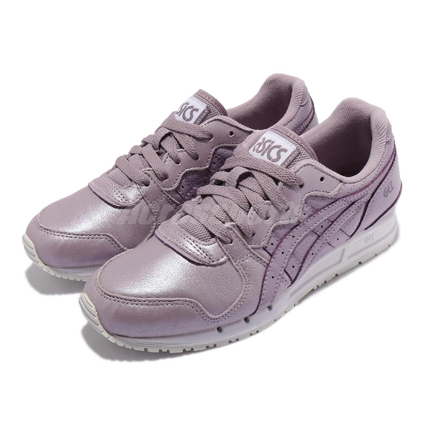 Asics 休閒鞋 Gel-Movimentum 紫 珠光 白 復古 女鞋 亞瑟士【ACS】 1192A003500