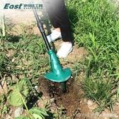 電動微耕機鬆土機除草充電式小型家用多功能鋤地農具旋耕機翻土機 LannaS YTL