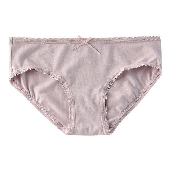 4條少女純棉內褲女低腰學生三角褲