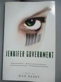 【書寶二手書T7/原文小說_KOZ】Jennifer Government: A Novel_Barry, Max