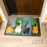 可愛貓咪日式進門地墊入戶門墊