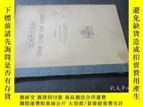 二手書博民逛書店THE罕見USE OF LIFE 生命的使用 昭和13年Y671