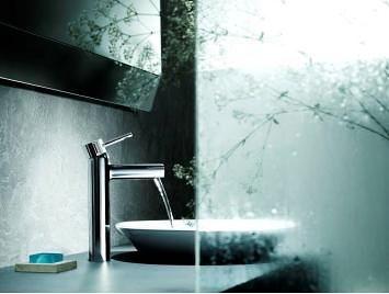 【麗室衛浴】美國 KOHLER CUFF系列  單槍面盆龍頭 K-37303T-4-CP
