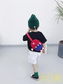 寶寶短袖T恤2019夏裝新款韓版男童半袖打底衫小童卡通書包體恤潮