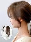 劉海假髮女八字劉海真髮髮片中分兩側假髮貼片無痕隱形法式假劉海 小山好物