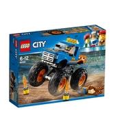 【LEGO 樂高 積木】60180 City 城市 巨輪卡車