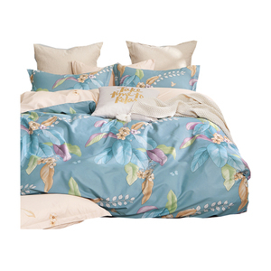 【eyah】台灣製200織精梳棉雙人床包枕套3件組-如夢一場