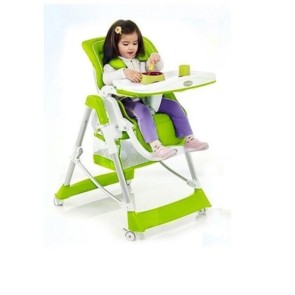 豪華兒童餐椅 多功能餐椅 折疊餐椅 便攜式餐椅 寶寶餐椅 (紅 橙 綠三色)