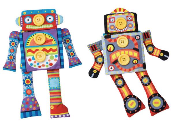 【奇買親子購物網】美國ALEX 鈕釦玩偶換裝秀-機器人
