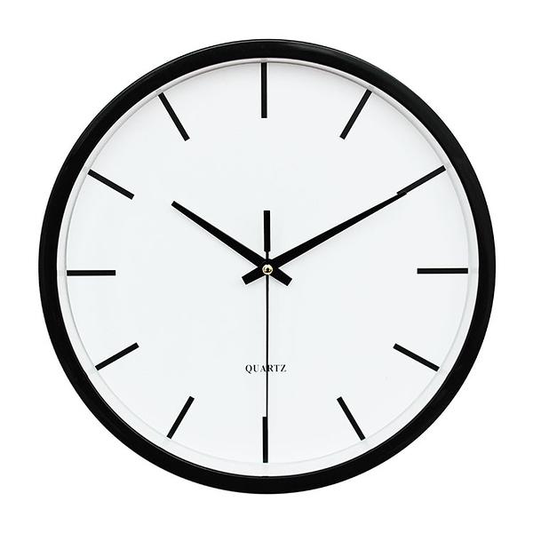 掛鐘客廳現代簡約創意時尚日式掛表臥室家用個性壁鐘電池石英時鐘【八折搶購】