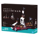 《 Nano Block 迷你積木 》NBM-011 海盜船  ╭★ JOYBUS玩具百貨