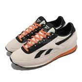Reebok 休閒鞋 Aztec WL 米白 黑 橘 復古 聯名款 男鞋 女鞋 韓國品牌【ACS】 G57860