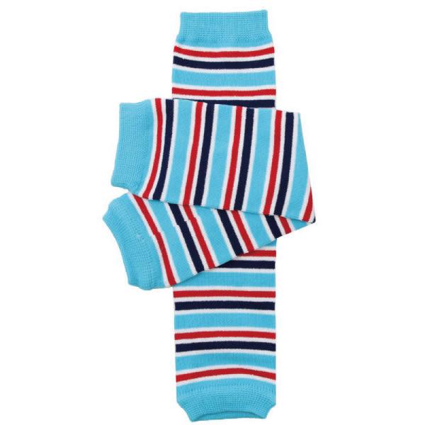 美國 My Little Legs 寶寶四季手襪套/手套/襪子 魅力藍紅
