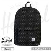 Herschel 後背包 黑色網格 經典後背包 Classic-1577 MyBag得意時袋