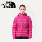 【The North Face 女款 700fp羽絨外套《紫紅》】0CTW0146/澎羽絨/防潑水