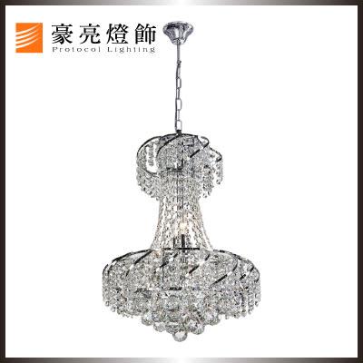 【豪亮燈飾】曼徹斯特水晶5吊燈~美術燈、水晶燈、吊燈、壁燈、客廳燈、房間燈、餐廳燈