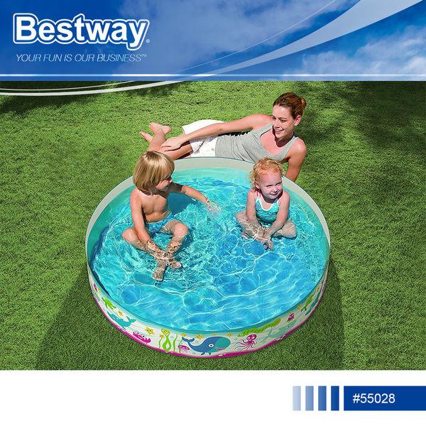 Bestway 55028 免充氣兒童游泳池硬質水池