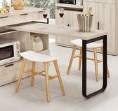 【森可家居】塔利斯L型桌面架 7CM393-3 餐櫃桌面架 北歐風