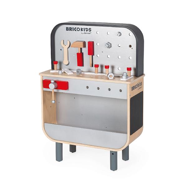 【法國Janod】小木匠曲線雙面工作台