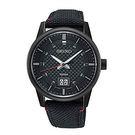 [萬年鐘錶] SEIKO  精工  時尚腕錶  日期顯示   帆布帶 SUR271P1 (6N76-00H0SD)