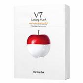 【盒損品】Dr.Jart+ V7維他命肌光瞬白面膜5片(商品效期:2020.09)