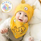 新生兒帽子夏季胎帽薄款初生寶寶套頭帽0-3-6個月嬰兒鹵門帽-Ifashion