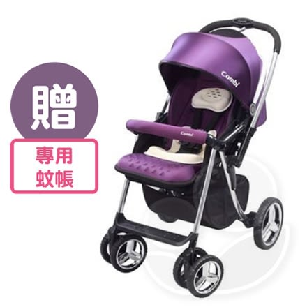 Combi 康貝 Mega Ride DX嬰兒手推車-酷炫黑【佳兒園婦幼館】