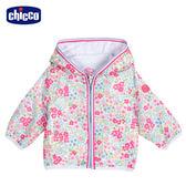 chicco-To Be Baby-防風連帽外套-碎花