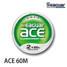漁拓釣具 SEAGUAR ACE 60M #0.6 - #1.0 [碳纖線]