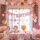 裝飾氣球 周歲生日裝飾場景布置派對裝飾品快樂女孩兒童主題背景墻【快速出貨八折優惠】