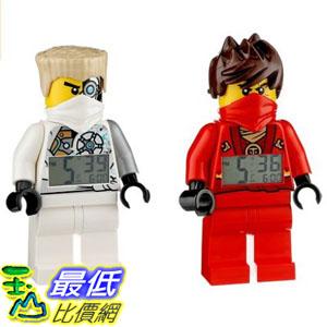 [美國直購] LEGO 9009457 人偶鬧鐘 忍者 凱+冰忍 Exclusive NINJAGO Rebooted Kai and Zane Minifigure Alarm Clocks