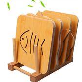 木質餐墊隔熱墊創意餐桌墊盤子墊子家用防燙墊鍋墊砂鍋墊碗墊杯墊 露露日記