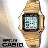 CASIO手錶專賣店 卡西歐  A178WGA-1A  男錶 數字型 生活防水 LED照明 秒錶 不銹鋼錶帶