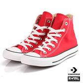 CONVERSE 新竹皇家 ALL STAR Chuck Taylor AS Core Hi 紅色 高筒帆布鞋 男女款 免運費 NO.I1699