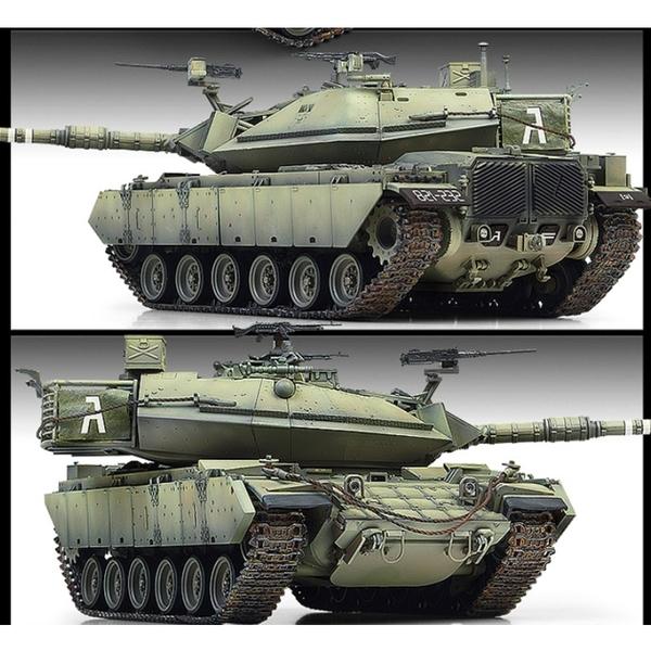 Academy 愛的美 1/35 模型 以色列 Magach 6B Gal Batash 馬戈其戰車 6B戰車 13281