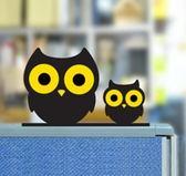 辦公桌擺件 創意可愛動物桌面粘貼式電腦顯示器擺件 家居家庭裝飾小飾品color shop