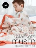 兒童紗布被子蓋毯muslin嬰兒包巾新生兒抱被寶寶包被夏季薄款用品 英雄聯盟