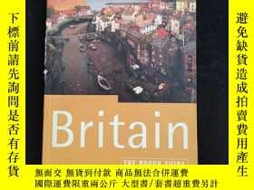 二手書博民逛書店英文原版罕見THE ROUGH GUIDE TO BRITAIN