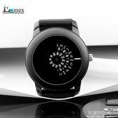硅膠錶帶錶相機概念轉盤數字潮酷創意手錶·花漾美衣