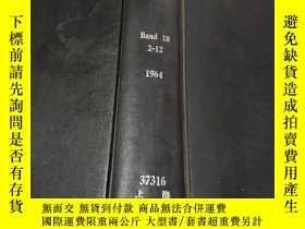 二手書博民逛書店gas罕見wasser wärme band 18 2-12 1