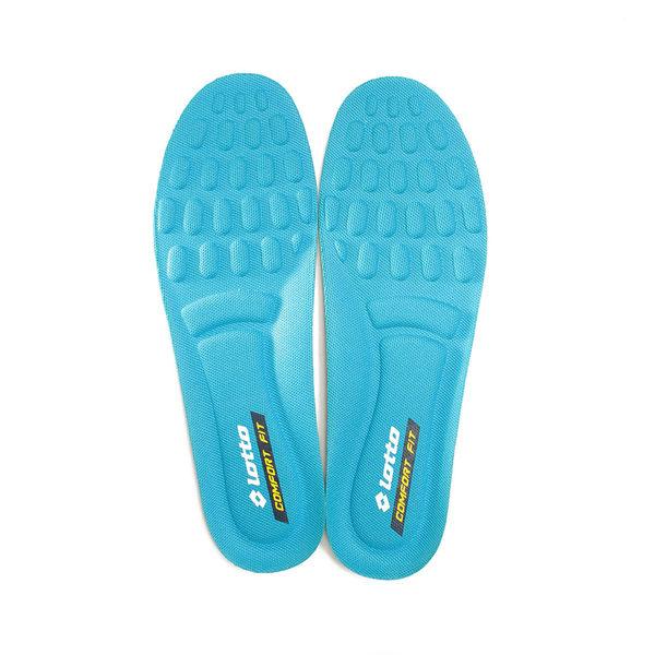 LOTTO 超回彈乳膠鞋墊 藍綠 LT7CMI0186