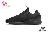New Balance 247 運動鞋 男款 避震 透氣慢跑鞋 O8402#黑色◆OSOME奧森童鞋