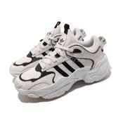 adidas 休閒鞋 Magmur Runner W 米白 黑 女鞋 老爹鞋 復古 【PUMP306】 EG3171