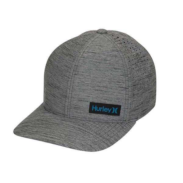Hurley M DF MARWICK ELITE HAT DK SMOKE GREY 棒球帽-(男)