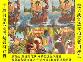 二手書博民逛書店Mcgraw-hill罕見Reading Wonders Literature Anthology G1-U1、G