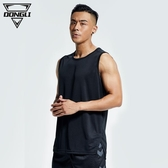 速乾衣 健身背心男運動跑步無袖上衣籃球吸汗透氣寬松坎肩T恤足球訓練服