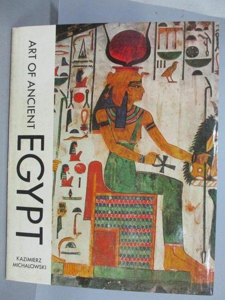 【書寶二手書T1/藝術_RJC】Art of Ancient EGYPT_附殼