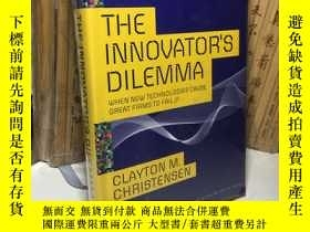 二手書博民逛書店The罕見Innovator s Dilemma: When New Technologies Cause Gre