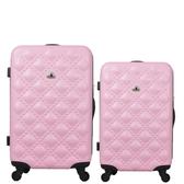 行李箱24吋 ABS材質 時尚香奈兒系列【Bear Box】